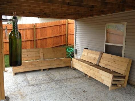 canapé exterieur en palette meuble en palette 81 idées diy pour votre espace maison