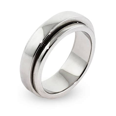 collection  spinning mens wedding bands