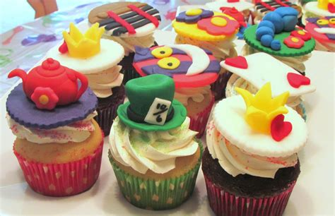 Maybe you would like to learn more about one of these? Baker Becky: Alice In Wonderland Cupcakes!