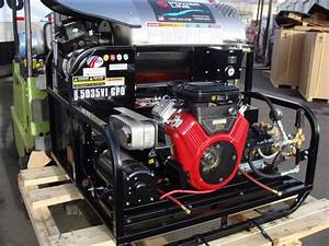 Skid-mounted Pressure Power Washers