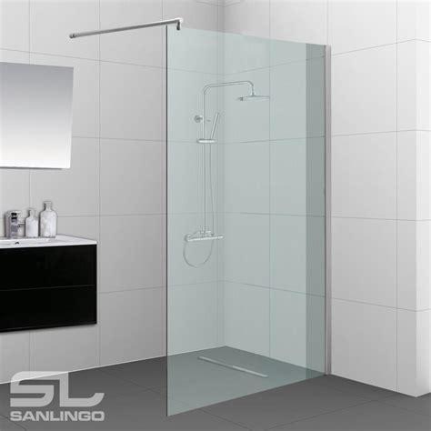 glas duschwand duschabtrennung dusche duschtrennwand seitenwand walk in dusche 60 140 cm