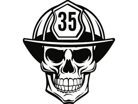 14074 firefighter helmet clipart black and white firefighter skull 1 firefighting helmet fireman fighting
