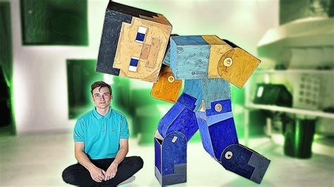 Steve From Minecraft In Real Life