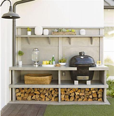 idee amenagement cuisine d ete 15 idées pour aménager une cuisine d 39 été à l 39 extérieur