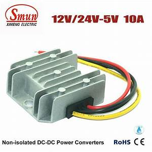 Waterproof Dc Buck Module 12v 24v To 5v 10a Dc To Dc
