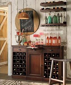 bar ideas credenzas and bar on pinterest With wine bar design for home