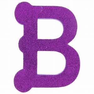 b 5quot glitter eva foam letter With glitter name letters