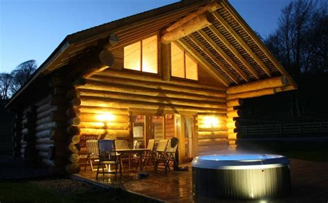 lake windermere log cabins with tubs family holidays lake district kingfisher cabin