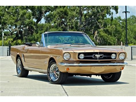 1965 Ford Mustang For Sale On Classiccars.com