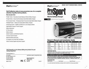 Promariner Prosport Gen 3 User Manual