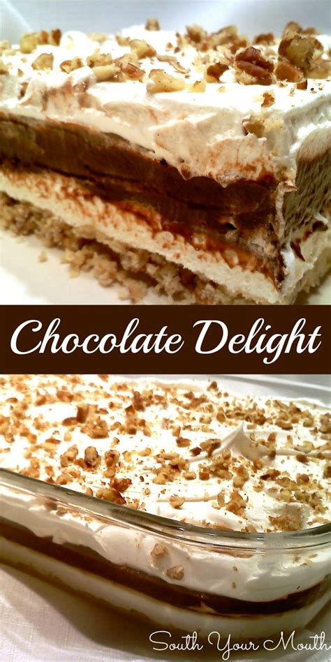chocolate delight chocolate delight recipes for thanksgiving pinterest