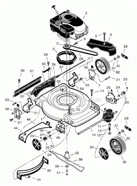 Murray Lawn Mower Parts Diagram Wiring Fuse