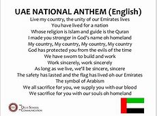 UAE Culture Presentation