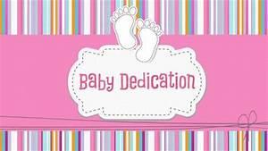 Church Powerpoint Template  Baby Dedication