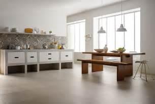 Pietra Floor Tiles by Piastrelle Cucina Idee In Ceramica E Gres Marazzi