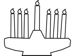 Kwanzaa Candles Coloring Pages Printables