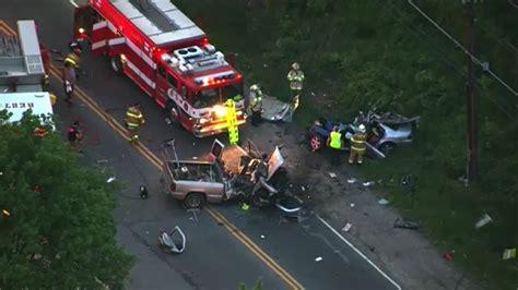 people injured  critically  maryland car