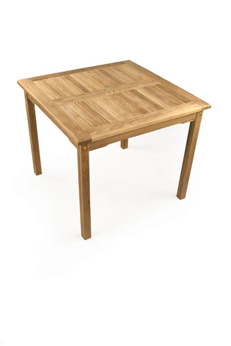 sandringham 4 seater teak garden table
