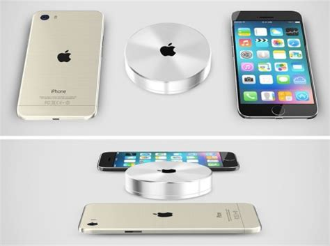 iphone 6 wireless charging concept top smartphones iphone 6 pro rendered with