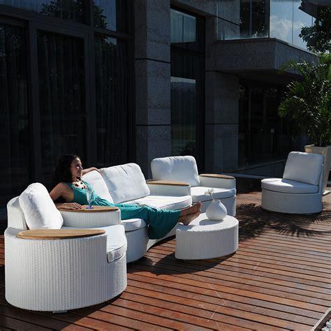 canap de jardin design salon de jardin corfou