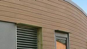 Wpc Wandverkleidung Außen : wpc werzalit holzfassade wpc wpc fassade holzfassade und stadtvilla ~ Frokenaadalensverden.com Haus und Dekorationen