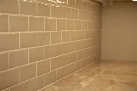 shiny ceramic subway tile backsplash kitchen boston