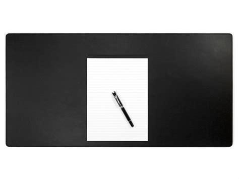 sous mains bureau grand sous de bureau en cuir noir 80 cm par 40 cm