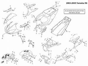 Complete Black Fairing Bolt Kit Body Screws For Yamaha 03