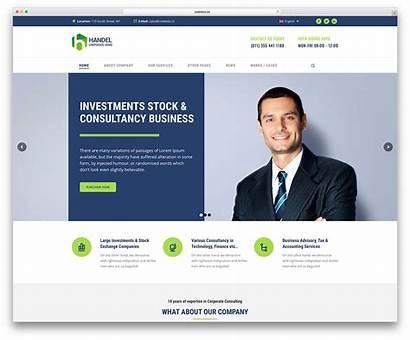 Website Business Company Wordpress Templates Corporate Themes