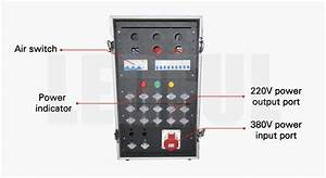 Power Distribution Box For Event Rental Led Screen By Ledful