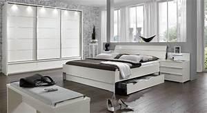 Moderne Betten Mit Led : nachttisch mit schubladen und led beleuchtung salford ~ Bigdaddyawards.com Haus und Dekorationen