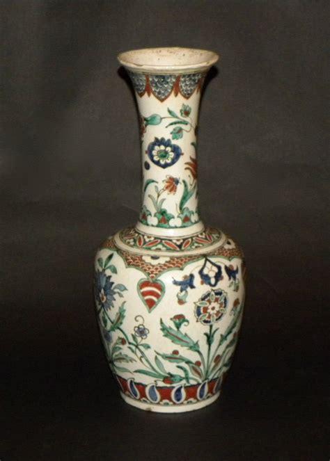 Pictures Of Antique Vases by Antique Islamic Iznik Ceramic Pottery Large Vase Ebay