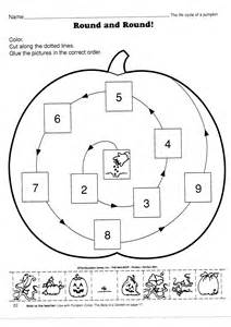 Life Cycle Of A Pumpkin Sequencing Worksheet by Pumpkin Fun