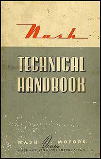Nash Specs Wiring Diagrams Technical Handbook