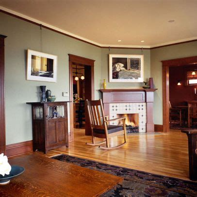 living room paint color in room with wood trim design