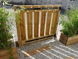 Barriere Pour Jardin : fabriquer un portillon en bois portillon pinterest portillon en bois et bois ~ Preciouscoupons.com Idées de Décoration