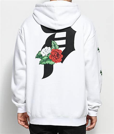 flores hoodie jacket primitive dos flores white hoodie zumiez