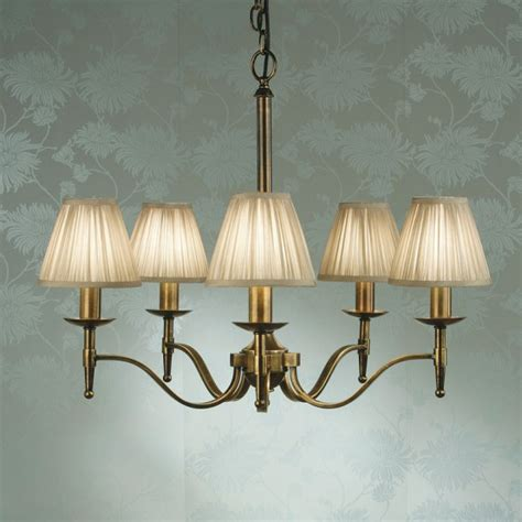 l shades chandelier midwest lighting ltd chandeliers stanford brass 5l