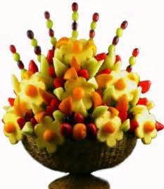 fruit basket arrangements flores de fruta para mamá recetín