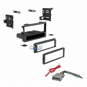 Car Radio Stereo Single Din Dash Kit Wiring Harness For