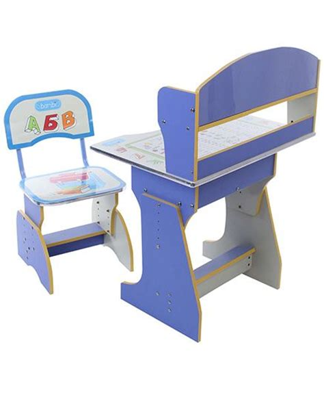 study table with chair blue and 2070 best