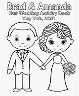 Coloring Printable Personalized Activity Bride Groom Template Favor Peanuts Sponsored Links Emasscraft sketch template