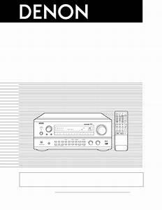 Denon Stereo System Avr