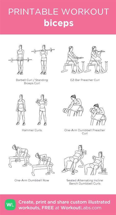 biceps workout ideas  pinterest biceps bicep