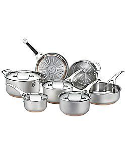 hudsons bay cookware set stainless steel kitchen design decor crockery