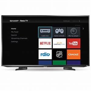 From The Big Screen To Your Home  Sharp Roku Tv Takes