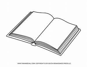 Free Open Book Clip Art Images  U0026 Template