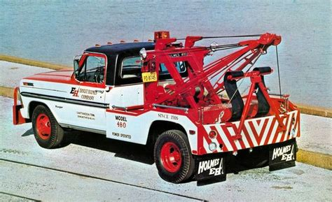 ford holmes  tow truck vintage tow trucks