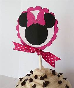 Minnie Mouse Cupcake Toppers for Birthday Party Baby Shower