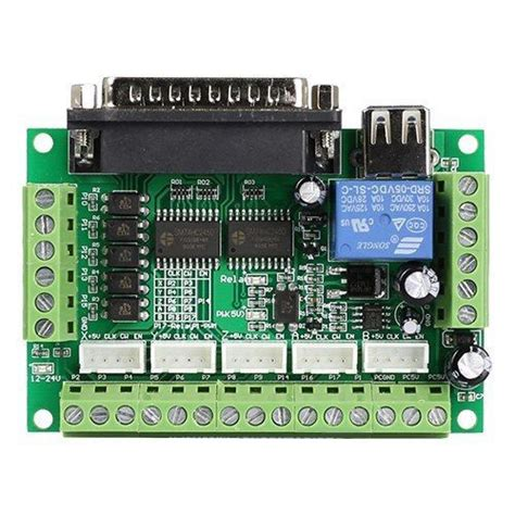 cnc breakout board stepper motor driver 5 axis cnc breakout board interface